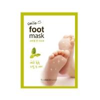 Smile Foot Mask 2 Single-Use Masks Masker Kaki 18ml - The Face Shop
