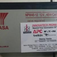 Battery Batt aki accu kering ups 12va 9Ah YUASA NPW45-12