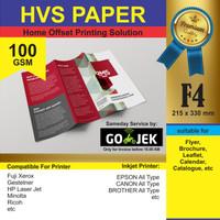 Kertas F4 100 gram /Kertas Fotokopi / Kertas Print / Kertas Presentasi