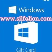 Microsoft Windows Store Gift Card $20