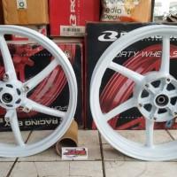 """Velg Racing RCB SP522 Kawasaki Ninja RR 215 / 300 x 17"""" White"""