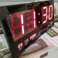 harga Jam Digital Led Dinding Xy 4622 Merah Tokopedia.com