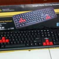 Keyboard USB e-Smile / Keyboard Komputer / Keyboard Gaming