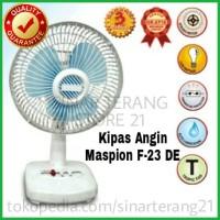 harga Murah Kipas Maspion F-23 De Desk Fan Meja 9