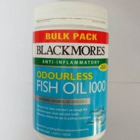 Blackmores Odourless Fish Oil 1000 (500 kapsul)