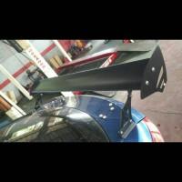 Spoiler Sedan GT Wing Alumunium coating Black Kualitas Bagus dan Awet