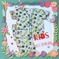 Piyama Set /piyama Kids Bear & Ball Hijau