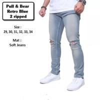 Jual Knee Ripped Jeans-Celana jeans sobek sobek Pria Murah