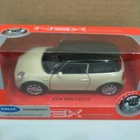 Diecast Miniatur Mobil New Mini Hatch