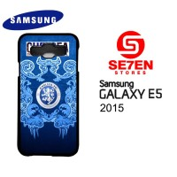 Casing HP Samsung E5 2015 chelsea FC Art Custom Hardcase Cover