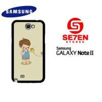 Casing HP Samsung Galaxy Note 2 couple 1 Custom Hardcase