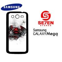 Casing HP Samsung Mega 5,8 Batman V Superman logo Custom Hardcase