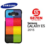 Casing HP Samsung E5 2015 colorfull iphone Custom Hardcase Cover