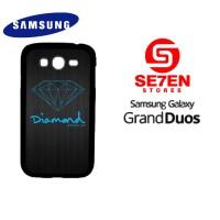 Casing HP Samsung Grand Duos Blue Diamond Supply Custom Hardcase Cover