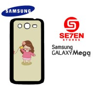 Casing HP Samsung Mega 5,8 couple 2 Custom Hardcase