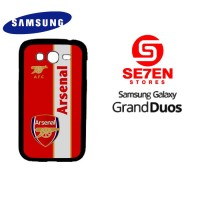 Casing HP Samsung Grand Duos arsenal logo 2 Custom Hardcase Cover