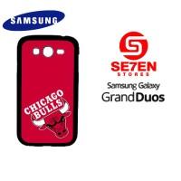 Casing HP Samsung Grand Duos Chicago Bulls Logo Custom Hardcase Cover