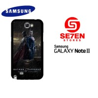 Casing HP Samsung Galaxy Note 2 batman v superman dawn Custom Hardcase