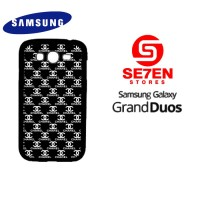 Casing HP Samsung Grand Duos black white channel Custom Hardcase Cover