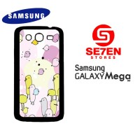 Casing HP Samsung Mega 5,8 Cartoon background 2 Custom Hardcase