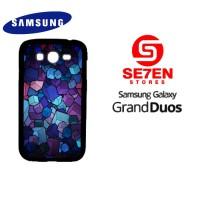 Casing HP Samsung Grand Duos cube wallpaper custom Custom Hardcase Cov