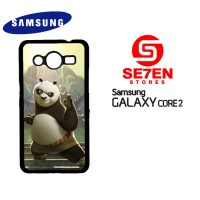 Casing HP Samsung Galaxy Core 2 Cartoon Kungfu Panda Custom Hardcase C