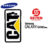 Casing HP Samsung Grand Prime caterpillar logo Custom Hardcase