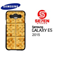 Casing HP Samsung E5 2015 Cracker Custom Hardcase Cover