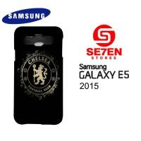 Casing HP Samsung E5 2015 chelsea fc logo Custom Hardcase Cover