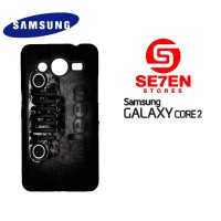Casing HP Samsung Galaxy Core 2 Cool Jeep Logos Custom Hardcase Cover