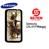 Casing HP Samsung Mega 5,8 batik wayang 2 Custom Hardcase