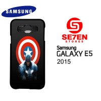 Casing HP Samsung E5 2015 Captain America Custom Hardcase Cover