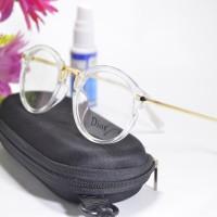 Jual kacamata gaya antiradiasi bulat dior 9178 bening Murah