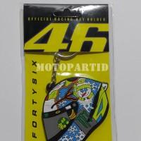 Keychain / Gantungan Kunci VR46 - Helm Snowman - AGV - Valentino Rossi