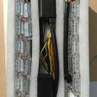 Jual LED DRL Flexible Crystal Tidak Running 50-69cm 2 mode Universal Murah