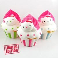 SQUISHY MURAH Squishy Hello Kitty Jumbo Cupcake HK Slow Squishy Shop