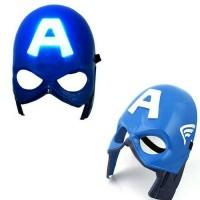 Topeng LED mainan anak kaptain Amerika