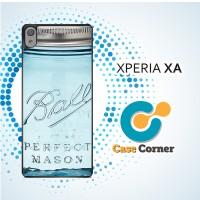 Casing HP Sony Xperia XA Mason Jar
