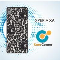 Casing HP Sony Xperia XA Lace Print