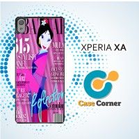 Casing HP Sony Xperia XA Mulan Bazaar