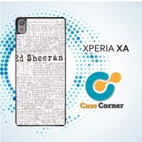 Casing HP Sony Xperia XA Ed Sheeran