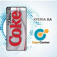 Casing HP Sony Xperia XA Diet Coke