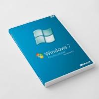 Jual Lisensi + COA Sticker Windows 7 Professional DVD Box (Free Win 10) Murah