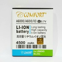 Baterai A6000 COMFORT Double Power for LENOVO A6010 K3 BL242 BL-242