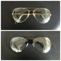 Paket Kacamata Aviator Optical + Lensa Minus Antiradiasi
