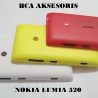 CASING NOKIA LUMIA 520 HOUSING FULLSET BACKCASE / BACK DOOR COVER