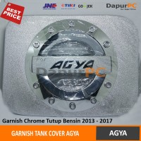 Tank Cover Mobil Toyota AGYA | Garnish Tutup Bensin Sporty