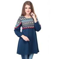 Dress / Atasan Wanita Motif Batik Trendy - SRS 338