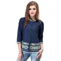 Dress / Atasan Wanita Motif Batik Trendy - SRS 998