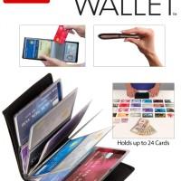 Jual Wonder Wallet RFID Blocker 24 Card Holder - Dompet Kartu Serbaguna Murah